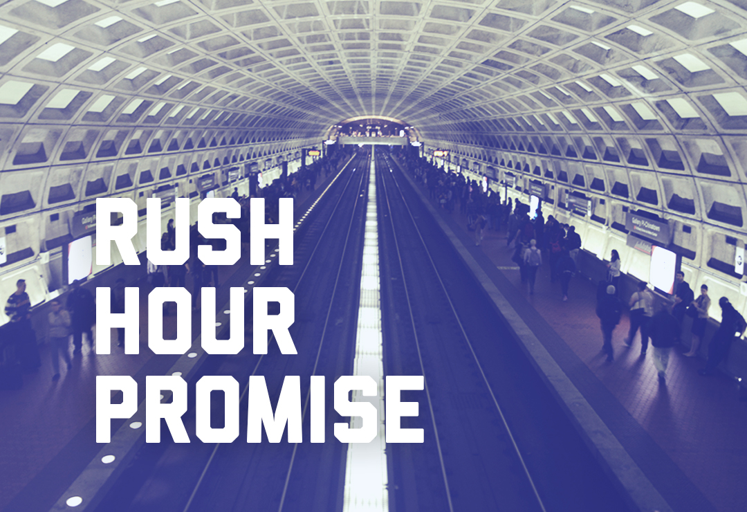 Back2Good rush hour promise logo 2018