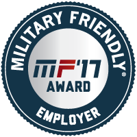 Military Friendly Employer 2017