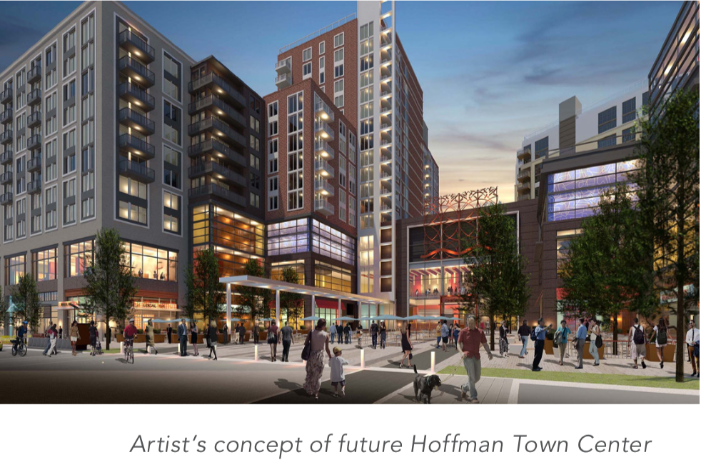Hoffman Town Center concept