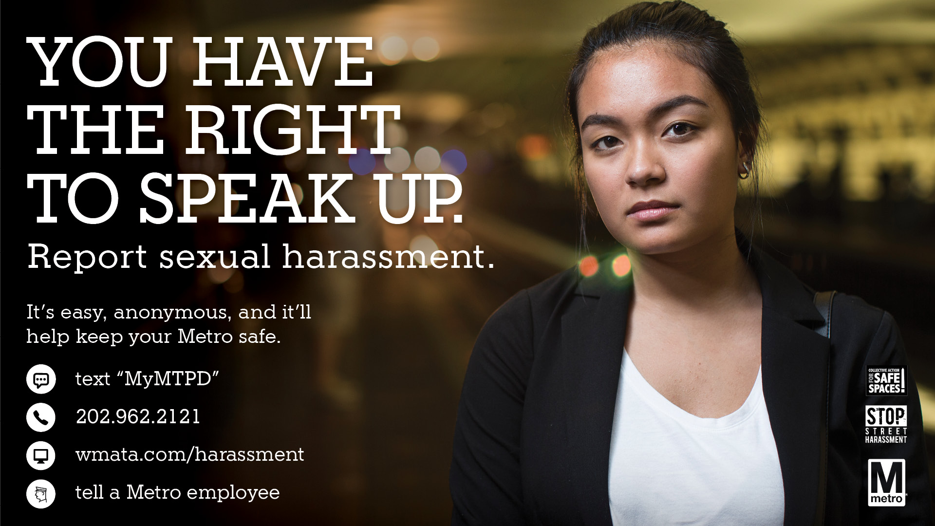 Sexual Harassment Public Awareness Campaign