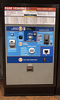 Fare Vending Machine