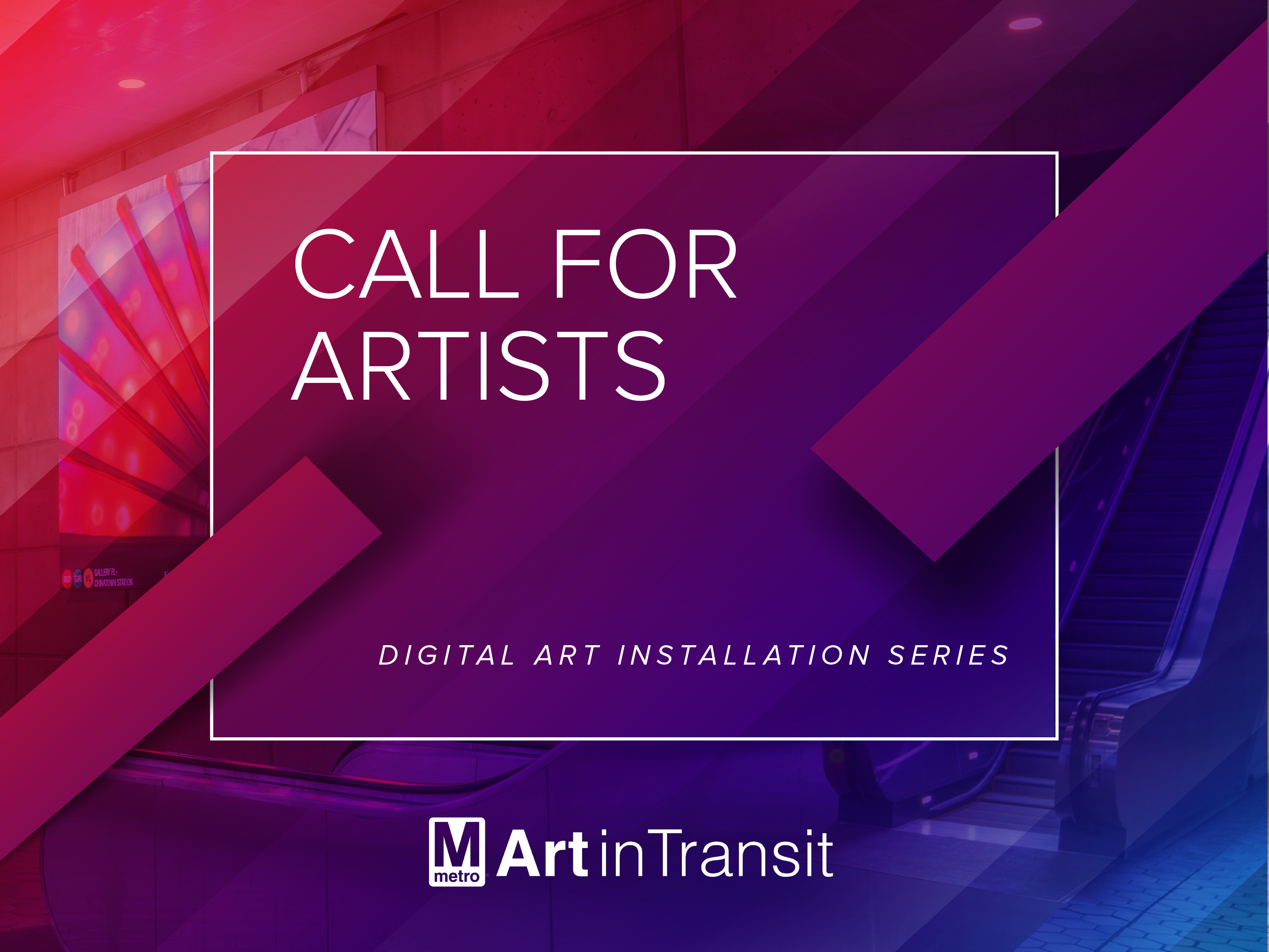 Digital Art Installation Call For Artists graphic