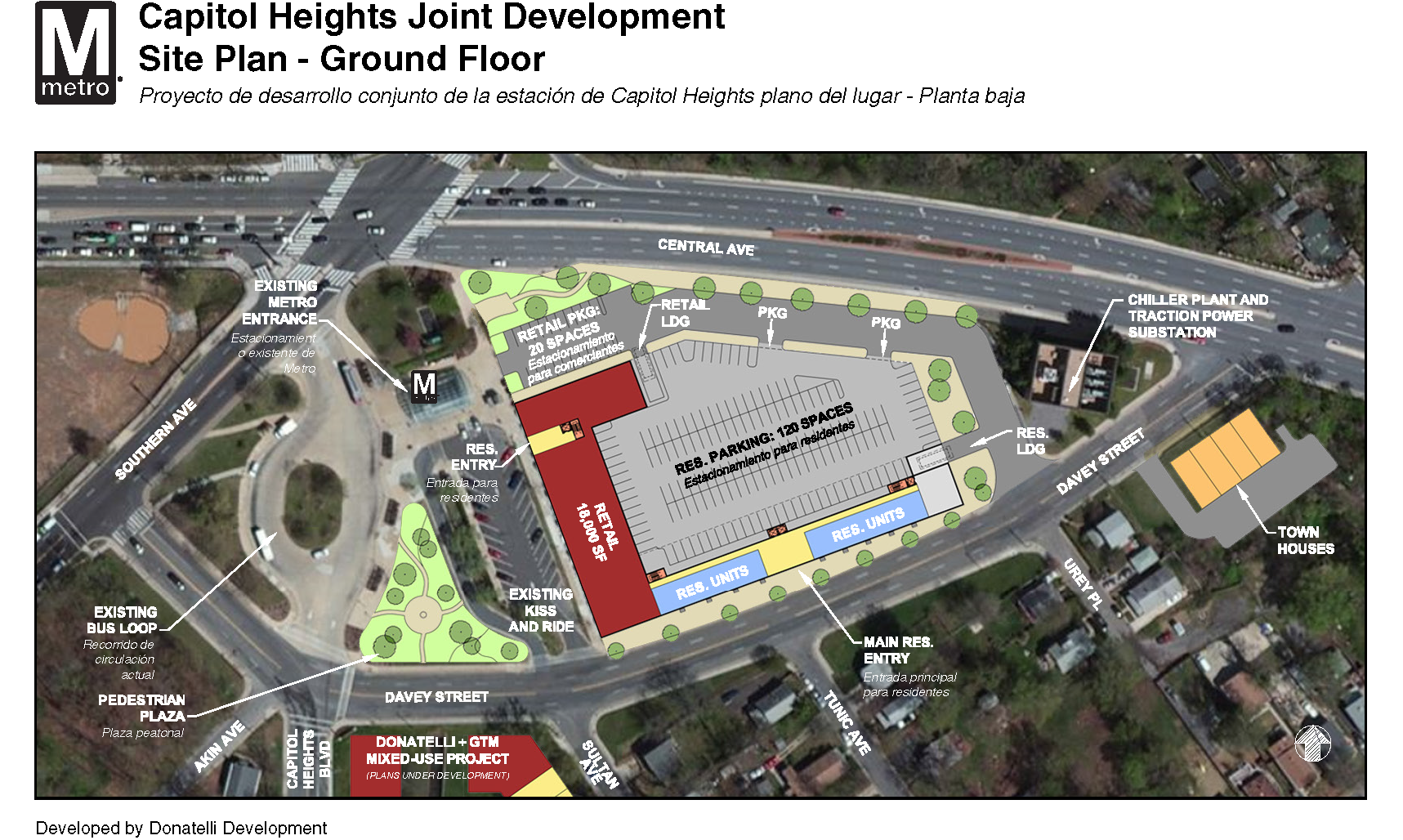 Capitol Heights Ground Level Rendering
