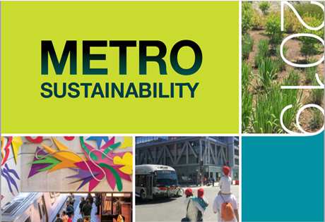 2019 Report - Metro Sustainability