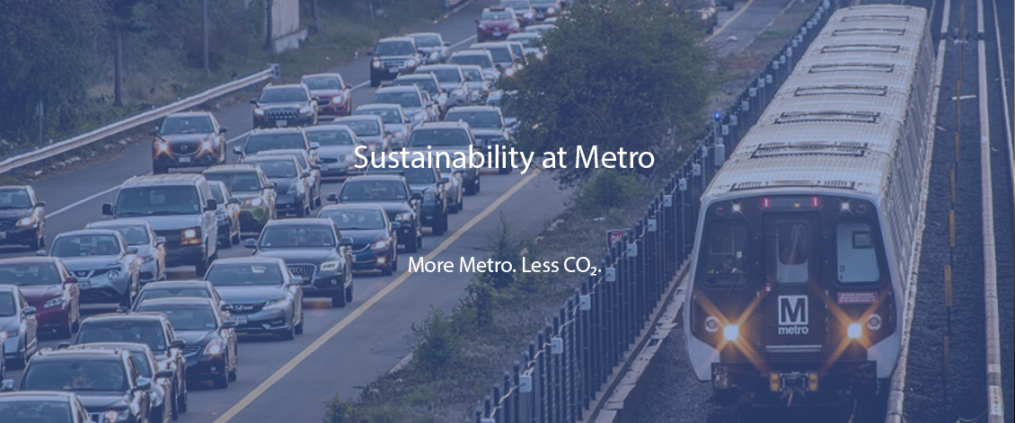 Sustainability at Metro - More Metro. Less CO2.
