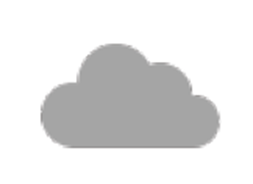 Cloud icon bullert