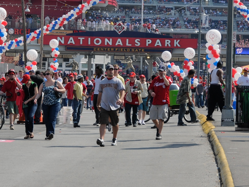 Nationals Park Crowds