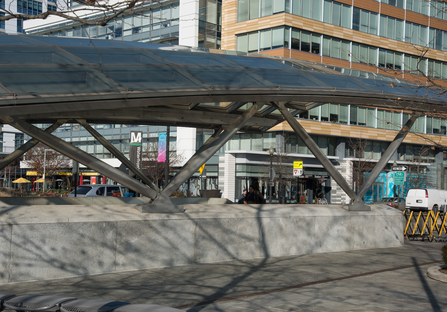 Waterfront Station Entrance Canopy