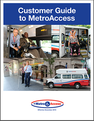 MetroAccess Customer Guide Cover 2017