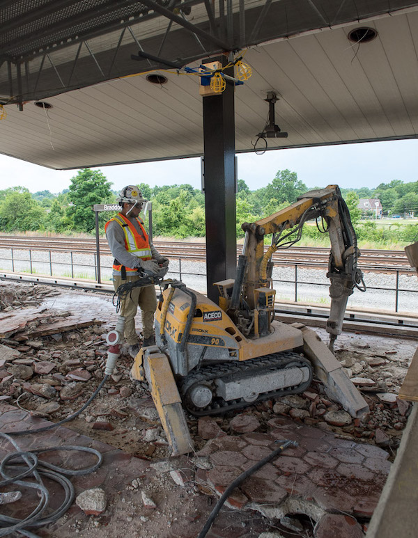 Platform reconstruction overview and construction update | WMATA