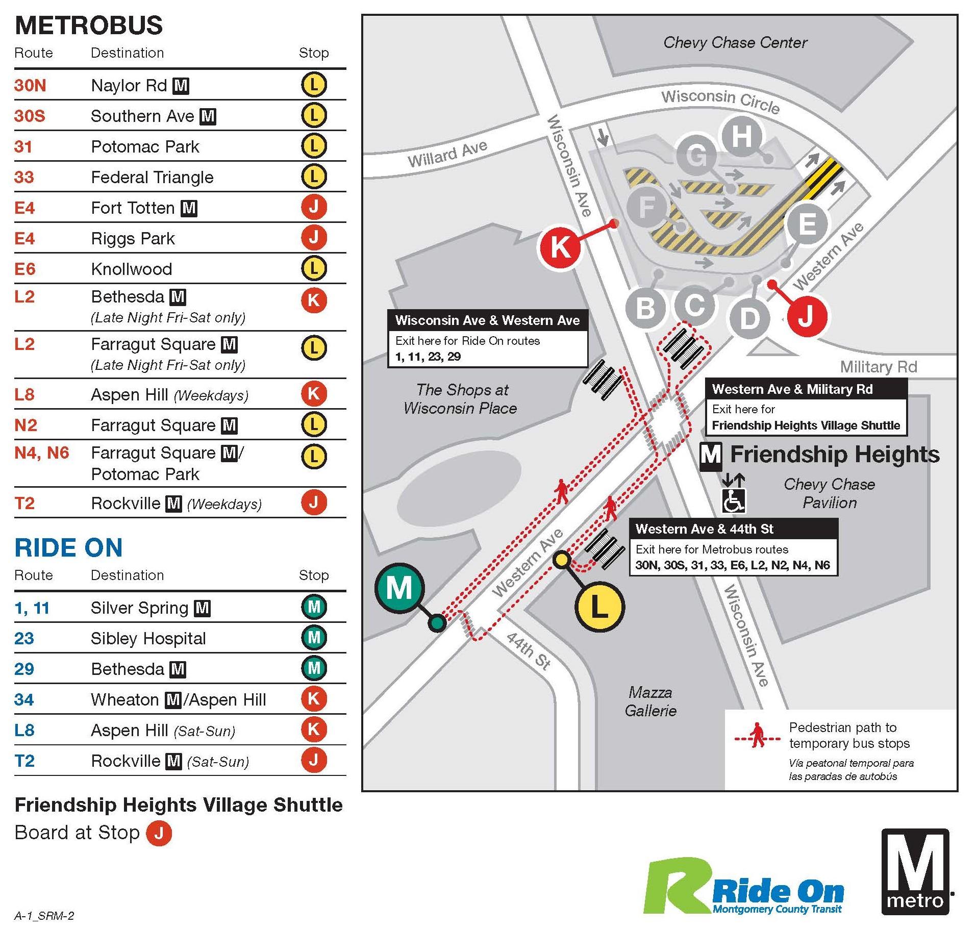 on n6 bus map